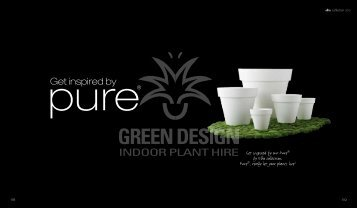 Get inspired by - Green Design Plant Hire