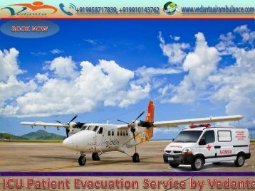 Traumatic Stress Relief by Vedanta Air Ambulance Service in Patna