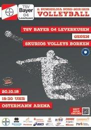 Spieltagsnews Nr. 3 gegen Skurios Volleys Borken