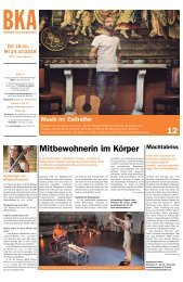 Berner Kulturagenda N°41