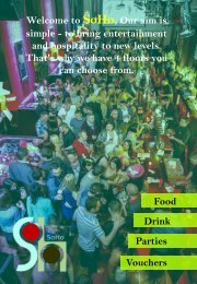 Entertainment venues cork -SOHO