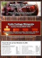 Weinzeche Weinletter 11_2018 – Die Kunst des Genießens - Seite 2