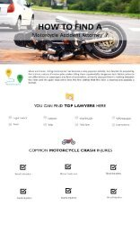 How to find Right  Motorcycle Accident Attorney NJ