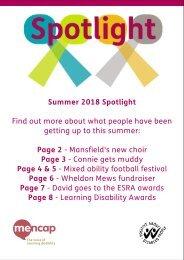 Spotlight magazine summer 2018