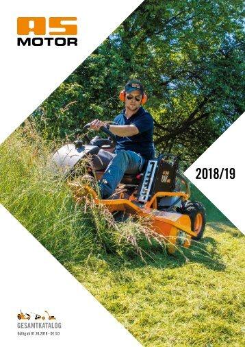 AS-Motor Katalog 2018