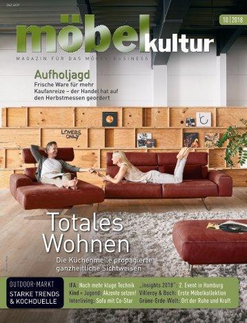 möbel kultur 10/18