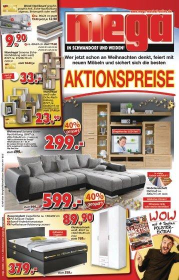 Aktionspreise mega-Möbel in Schwandorf und Weiden