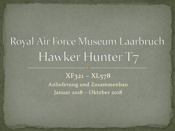 Mitte Oktober Fortschritt beim Hunter-Zusammenbau