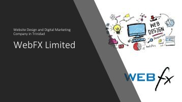 WebFX Website Design and Digital Marketing Company in Trinidad