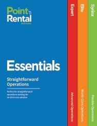 Essentials Brochure (UK)