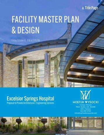 Excelsior Spring Hospital DRAFT