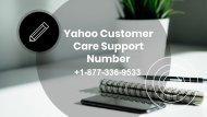 Yahoo Online Support Number 1877-503-0107
