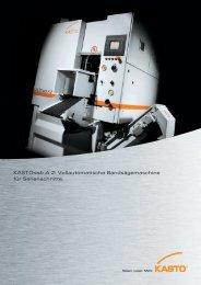 KASTOssb A 2: Vollautomatische Bandsägemaschine für ...