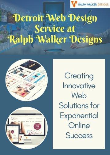 Advance Detroit Web Design Services | Ralph Walker Designs