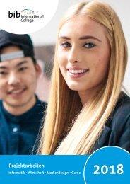 bib International College: Projektjahrbuch 2018