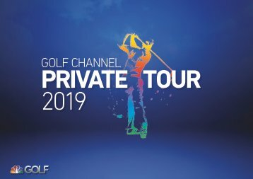 Golf Channel Private Tour 2019