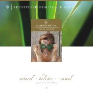 natural holistic sensual - Pharmos Natur