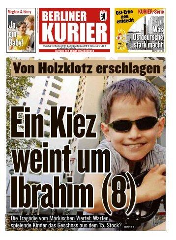 Berliner Kurier 16.10.2018