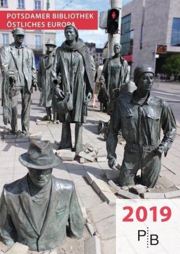 Verlagsverzeichnis des Deutschen Kulturforums östliches Europa 2019