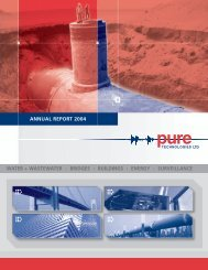 bridges : buildings : energy : surveillance annual report 2004 - Pure ...