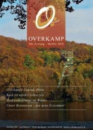 Overkamp - die Zeitung im Herbst 2018