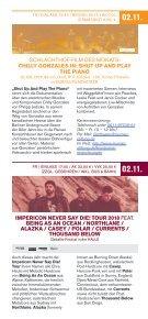 Programm Schlachthof Wiesbaden - November 2018 - Page 5