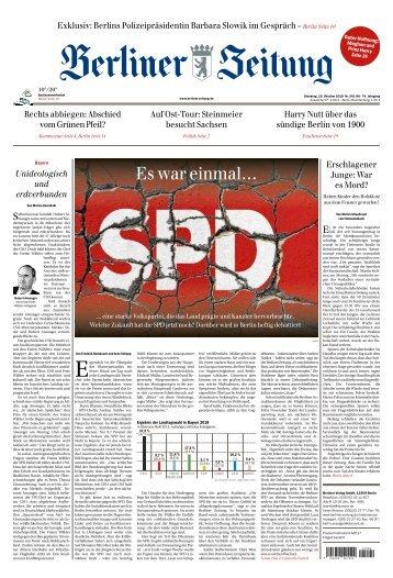 Berliner Zeitung 16.10.2018