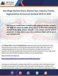 Flat Slings Market Share, Market Size, Industry Trends, Segmentation & Forecast Outlook 2018 to 2025