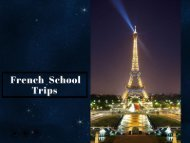 Book French School Trips – Perfect for Students