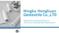 Pick The Best Geotextile Filter Fabric Products