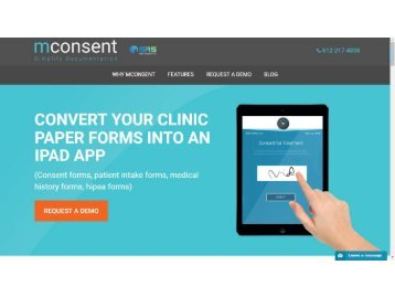 Paperless Medical Office | New Patient History Form - mConsent