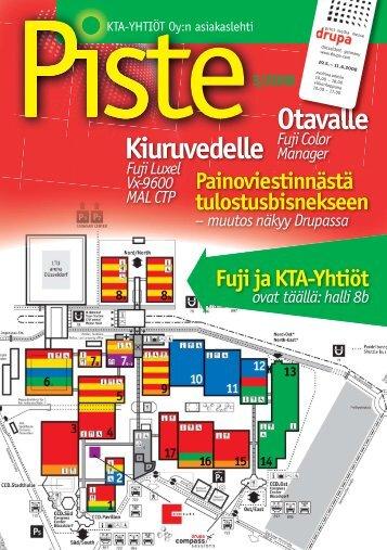 ovat täällä: halli 8b - KTA-Yhtiöt Oy