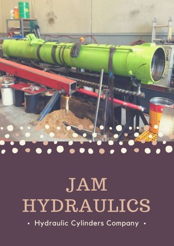 One of the Leading Providers of Hydraulic Services and Repairs
