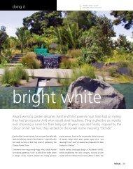 Resene Habitat Magazine Issue 6: Xanthe White