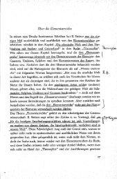 Ueber die Elementarreiche - Maximilian Rebholz