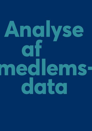 Analyse af medlemsdata (1)