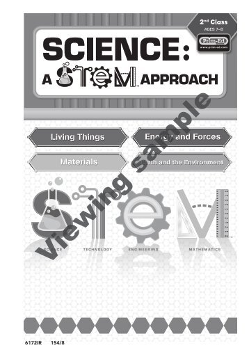 PR-6172RUK Science A STEM Approach - Primary 3