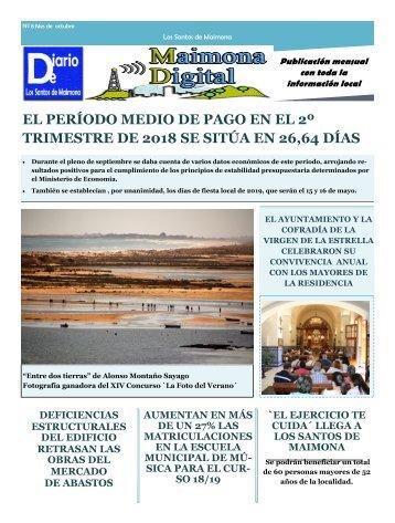 Diario local octubre 2018