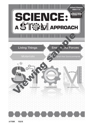 PR-6170RUK Science A STEM Approach - Primary 1