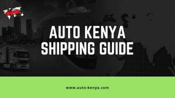 Car Import Guide to Kenya | Auto Kenya