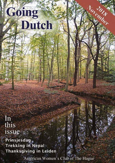 AWC Going Dutch Nov 2018