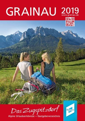 Urlaub in Grainau - Gesamtkatalog 2019
