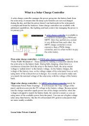 1 what is a solar charge controller