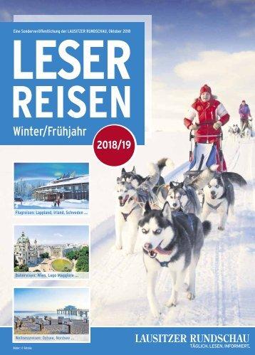 Leserreisen Winter/Frühjahr 2018/19