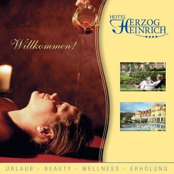 Prospekt 2012 - Hotel Herzog Heinrich