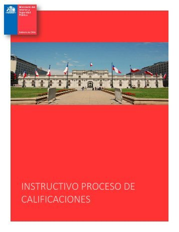 INSTRUCTIVO CALIFICACIONES