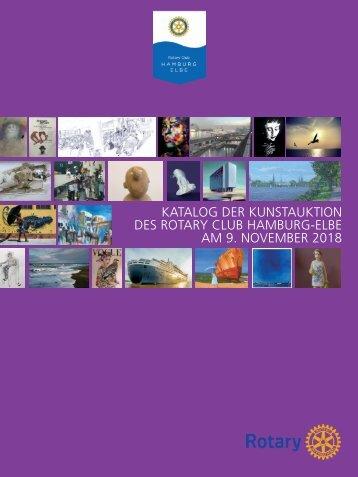 Rotary Club Hamburg-Elbe / Kunstkatalog 2018