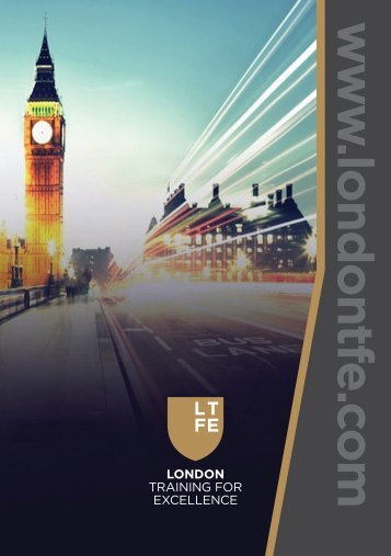 LTFE Training Brochure A5 dtp