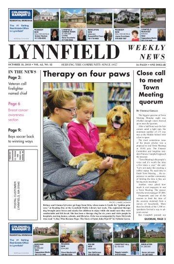 Lynnfield 10-18