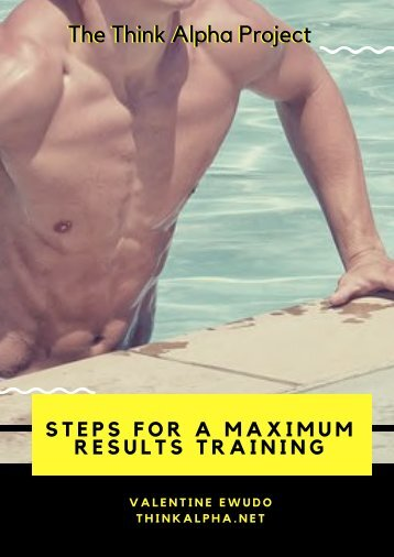 Steps for a Maximum Results Training